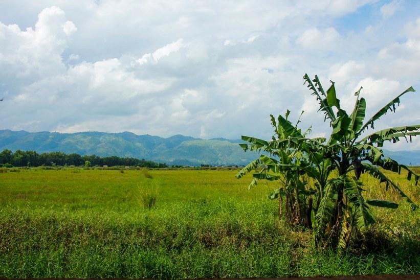 Landskabet omkring Nyuangshwe