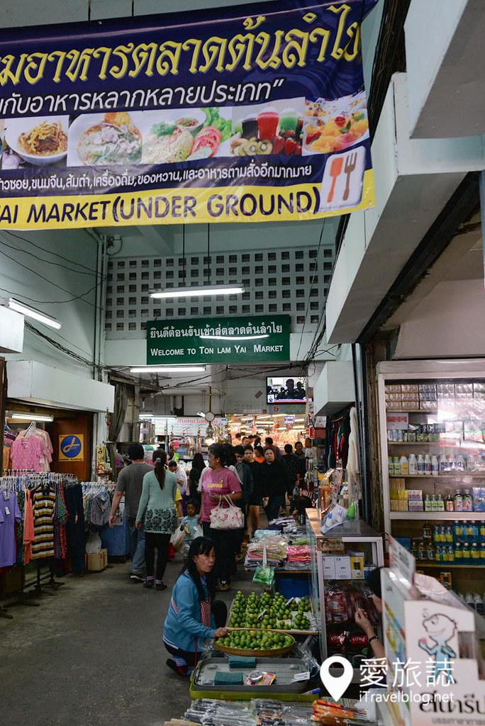 清迈市集 龙眼市场 Ton Lam Yai Market 11