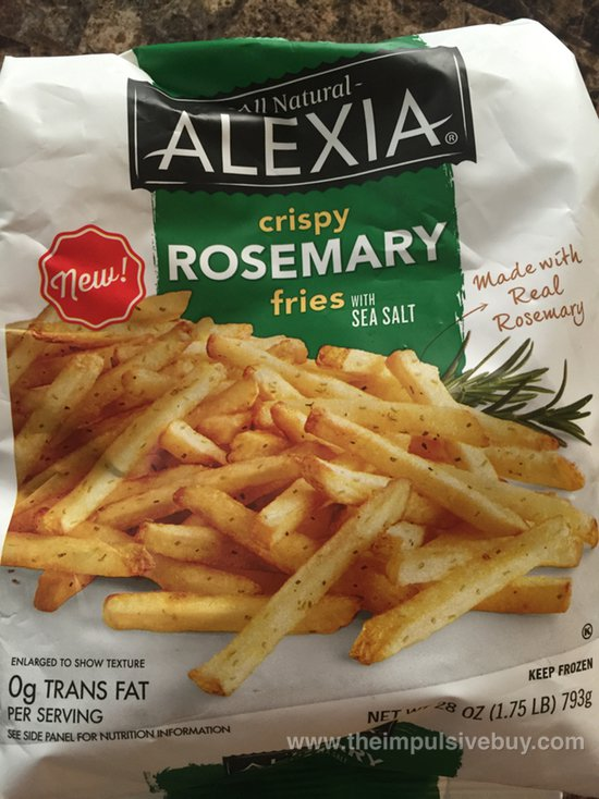Alexia Crispy Rosemary Fries with Sea Salt