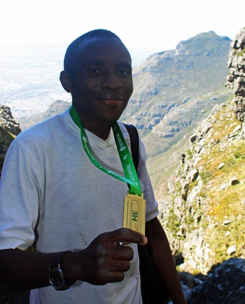 En fantastisk vandretur op af Table Mountain