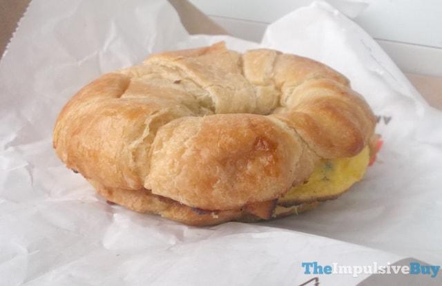 Dunkin' Donuts Bacon Supreme Omelet Breakfast Sandwich 2
