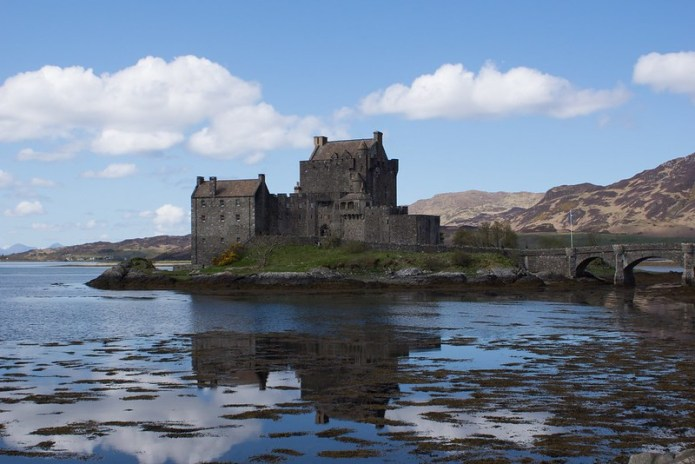 Reflecting in the loch
