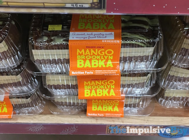 Trader Joe's Mango Brooklyn Babka
