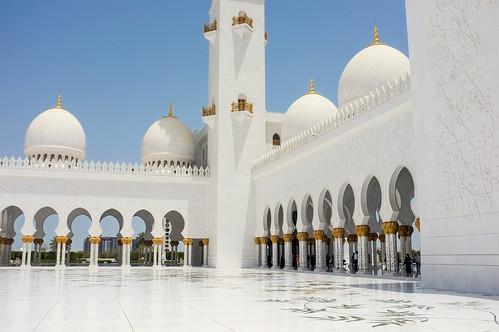 Sheikh Zayed Mosque - Exterior III.