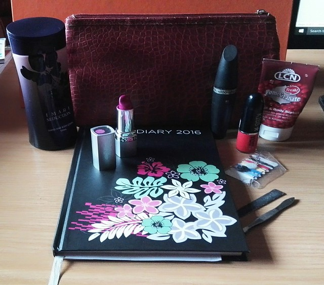 What is in Ayanda's Make-up Bag part of the A Lady and her bag series on the blog A Well Heeled Woman