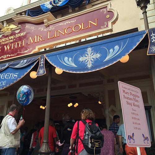 メリー・ポピンズのシングアロング上映入場。楽しそうだなー!!!