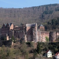 Postcards: Schloss Heidelberg (DE)
