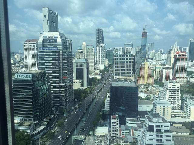 Vue du Signature Lounge - Sofitel So Bangkok