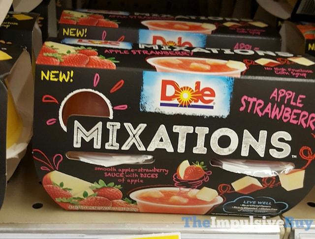 Dole Apple Strawberry Mixations