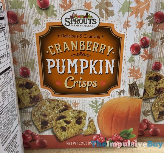 Sprouts Cranberry Pumpkin Crisps