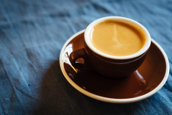 Espresso, koffie gemalen met de Hario Skerton