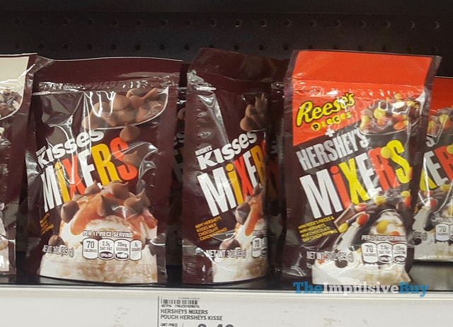 Hershey's Kisses Mixers and Reese's Pieces Hershey's Mixers