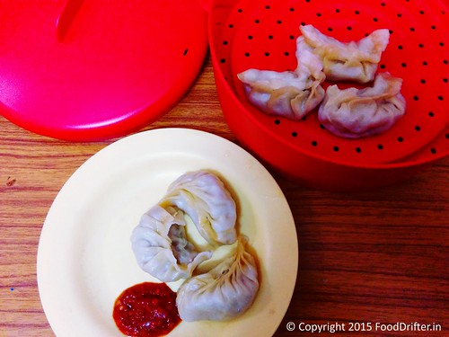 Tupperware Steam It - Momos 2