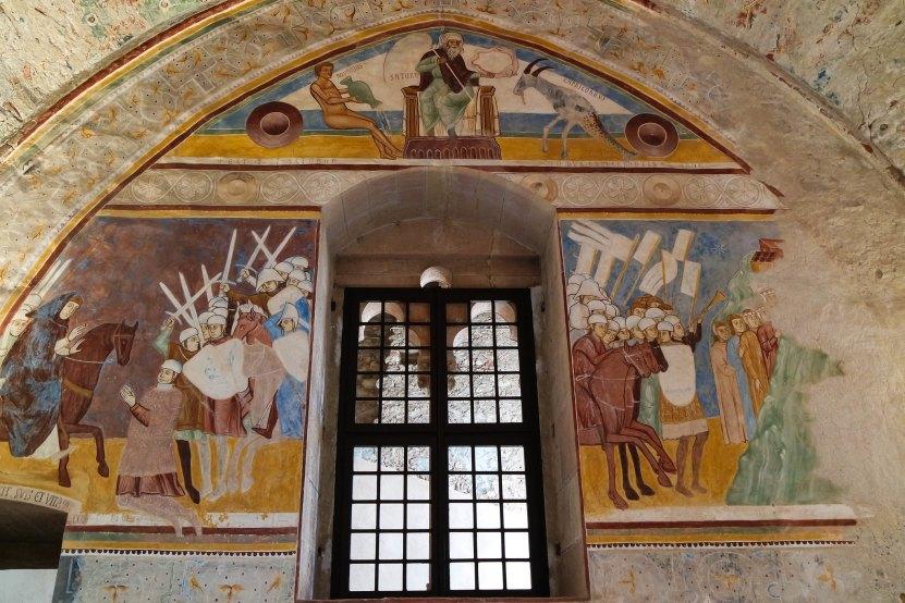 Sala di Giustizia della Rocca di Angera