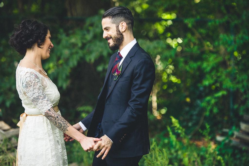 Offbeat bride wedding vows