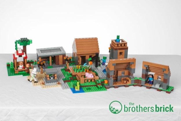 Minecraft 21128 The Village
