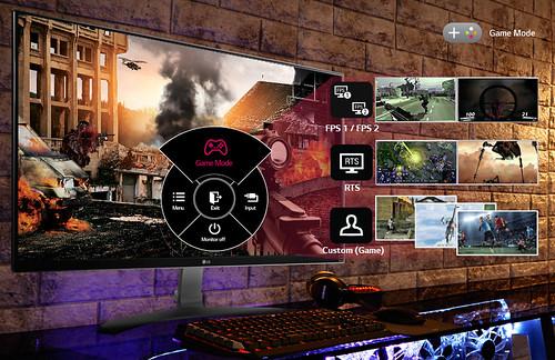 Game Mode ปรับลักษณะการแสดงผลรองรับเกมรูปแบบต่างๆ