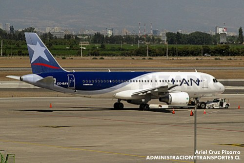 LAN Airlines - SCL - Airbus A320-214 CC-BAV