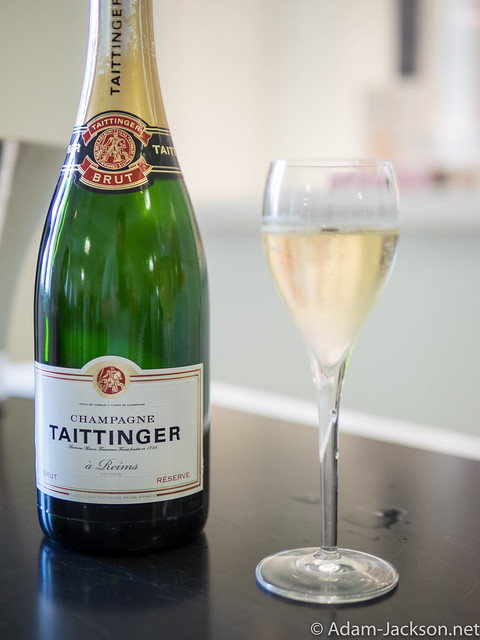 Champagne Tattinger Tour & Tasting