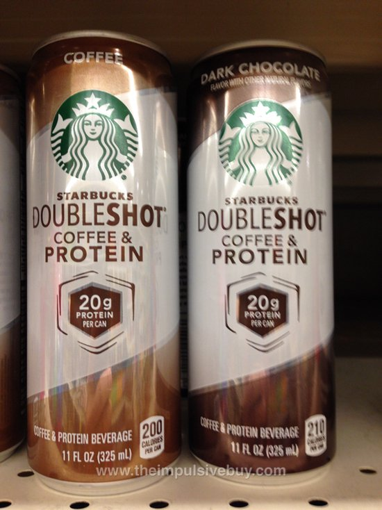 Starbucks Doubleshot Coffee & Protein (Coffee and Dark Chocolate)