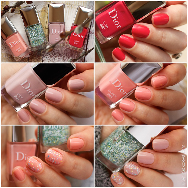 01 Dior Kingdom of Colors Collection for Spring 2015 #660 Glory, #294 Lady, #244 Majesty, Dior Top Coat Eclosion