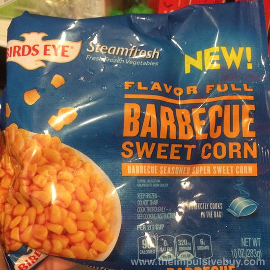 Birds Eye Steamfresh Flavor Full Barbecue Sweet Corn