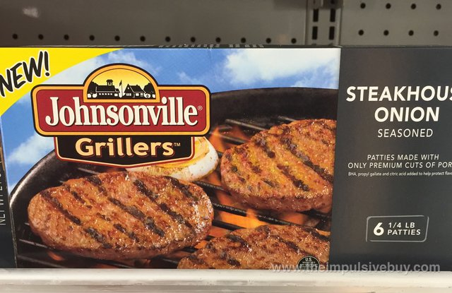 Johnsonville Grillers Steakhouse Onion