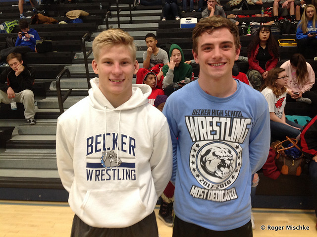 75th Career Win - Lukas Paulson of Becker and Kevin Andres of Becker