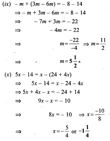 Selina Concise Mathematics Class 6 ICSE Solutions - Simple (Linear) Equations (Including Word Problems) - b3s..