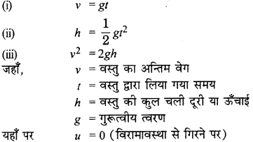 RBSE Solutions for Class 9 Science Chapter 10 Gravity 14