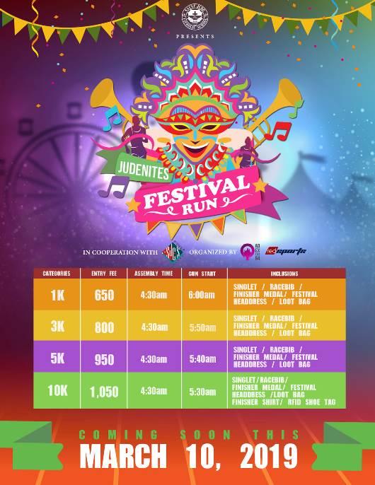 Festival Run 2019 Poster