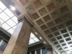 Interior, Central Library, Enoch Pratt Free Library (1933; Clyde N. Friz, architect), 400 Cathedral Street, Baltimore, MD 21201
