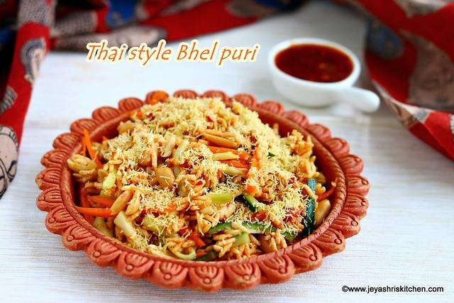 Thai style Bhel puri