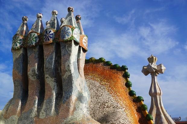 Casa Batlló chimney stack
