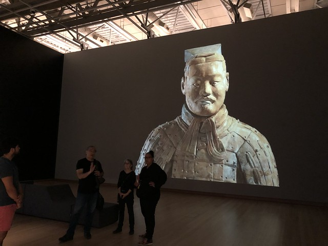 Terracotta Warriors, Te Papa Museum
