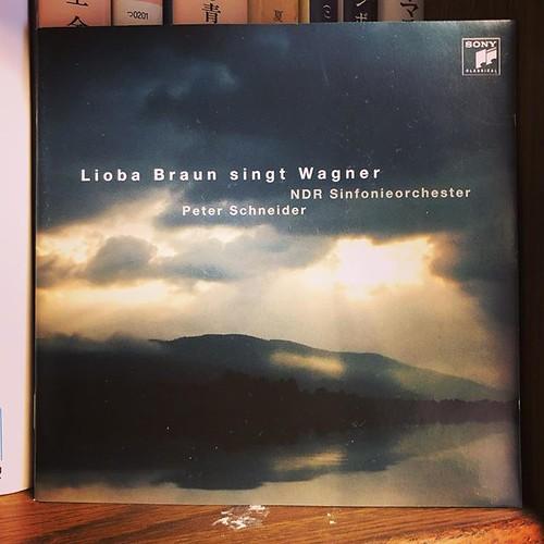 雨の降る休日、ペーター・シュナイダーが降るワーグナーを聞く。この瞬間、幸福。だが、人生は瞬間の連続。 #wagner
