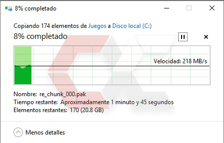 Copiado de disco a SSD Savage Overcluster