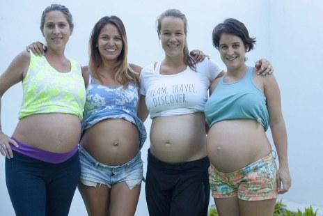 Diana pregnant in Mexico