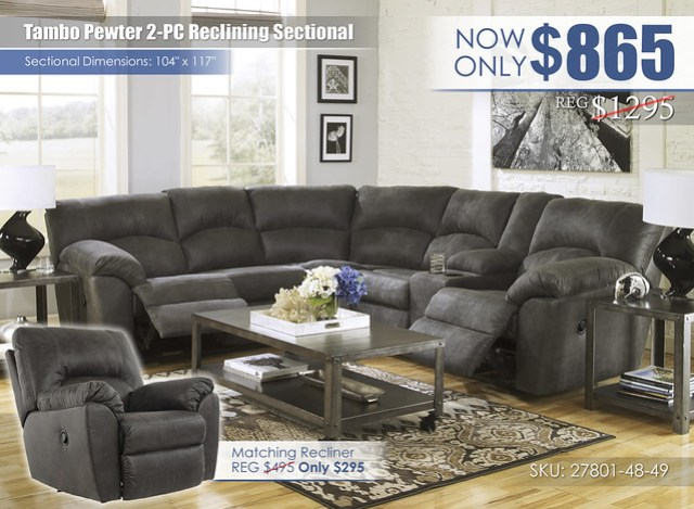 Tambo Pewter 2PC Sectional_27801-48-49-T560-OPEN