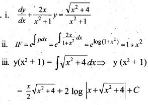 Plus Two Maths Chapter Wise Questions and Answers Chapter 9 Differential Equations 75