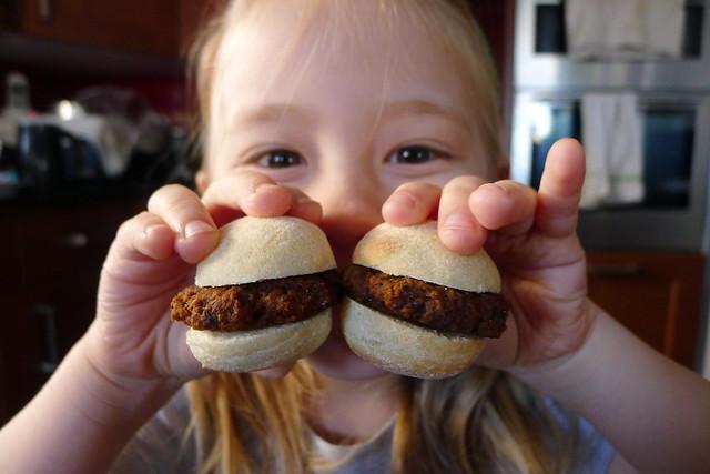 M&S vegan burgers
