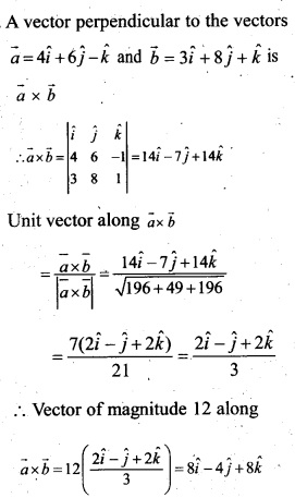 Plus Two Maths Chapter Wise Questions and Answers Chapter 10 Vector Algebra 14