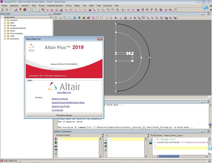 Altair Flux 2019.0.0.1515 x64 full license forever