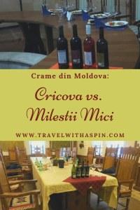 Crame din Moldova Cricova vs Milestii Mici