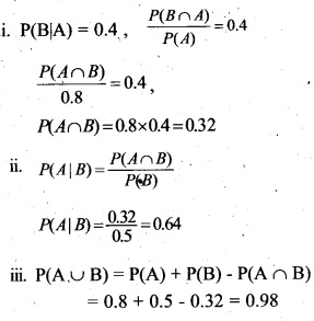 Plus Two Maths Chapter Wise Questions and Answers Chapter 13 Probability 56