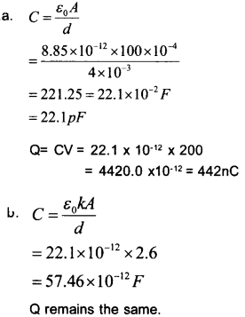 Plus Two Physics Chapter Wise Questions and Answers Chapter 2 Electric Potential and Capacitance 27