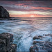 SUNRISE AT SEACOMBE QUARRY, DORSET