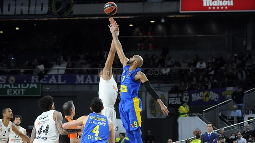 J16 EUROLEAGUE: Real Madrid - Maccabi (3-1-2019)