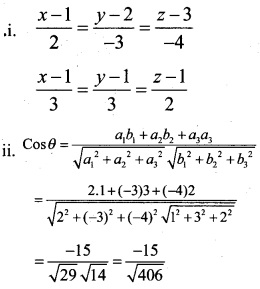Plus Two Maths Chapter Wise Questions and Answers Chapter 11 Three Dimensional Geometry 43