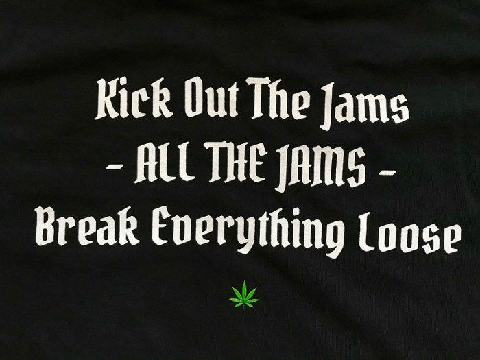 Kick Out The Jams - John Sinclair - Limited Edition T-shirt has arrived